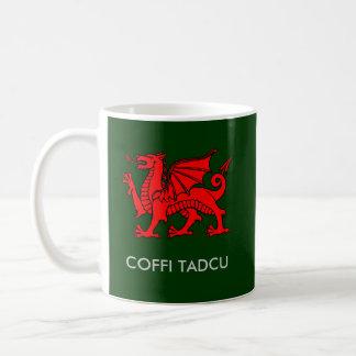 Mug Coffi Tadcu - le café du papy dans Gallois du sud