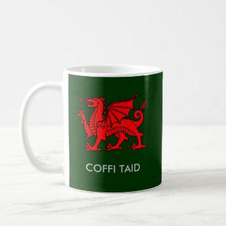 Mug Coffi Taid - le café du papy dans Gallois