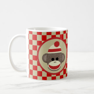 Mug Cognez le garçon de singe avec rouge et les