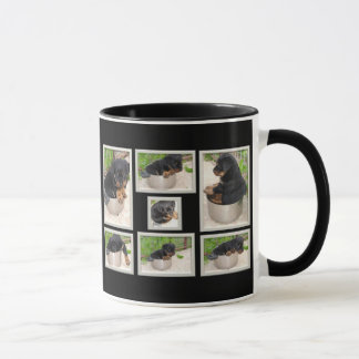 Mug Collage de rottweiler