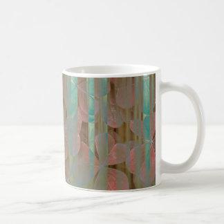 Mug Collage d'Oxalis et d'arbres | Seabeck, WA