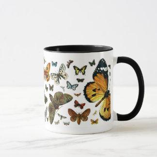 Mug Collage européen de papillon