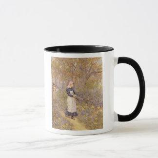 Mug Collecte du bois pour la mère