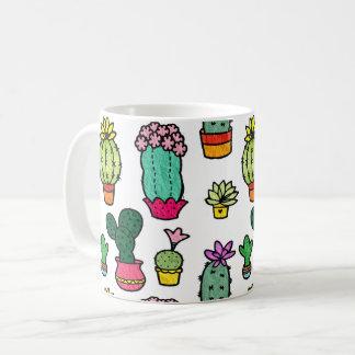 Mug Collection de cactus
