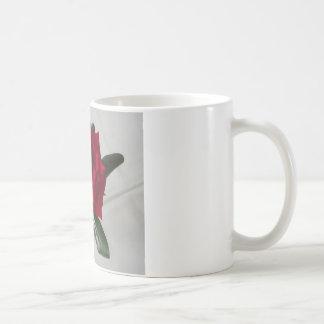Mug Collection de Flora de rose rouge