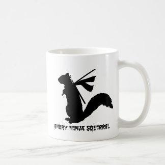 Mug Collection fâchée d'écureuil de Ninja