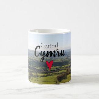 Mug Collines de Gallois de paysage du Pays de Galles