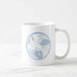 Mug colombe de paix