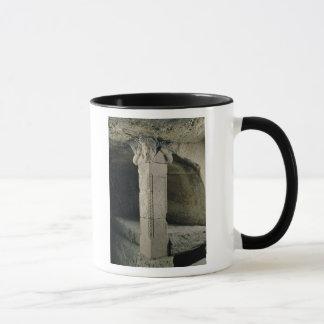 Mug Colonne de la crypte, avec la tête de Moïse