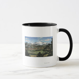 Mug Colorado Springs, Co - crête de brochets