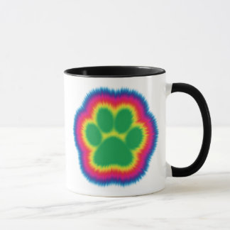 Mug Colorant Pawprint de cravate