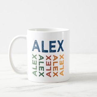 Mug Coloré mignon d'Alex