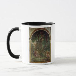 Mug Combat entre Jacob et l'ange, 1850-61
