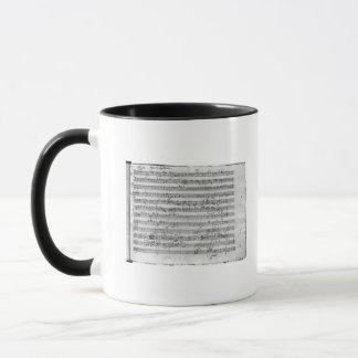 Mug Commandant de G pour le violon, le clavecin et le
