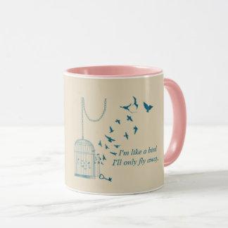 Mug Comme un oiseau