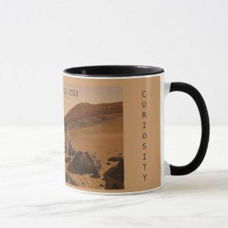 Mug Commémoration du lancement de la curiosité Mars