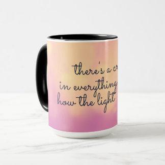 Mug Comment la lumière entre