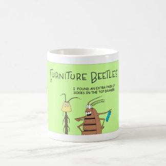 Mug Comporter le scarabée de meubles