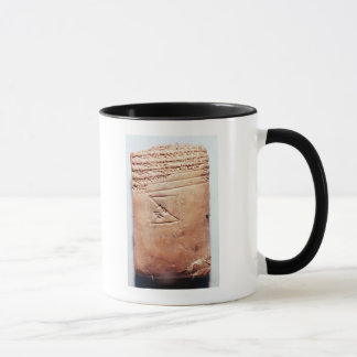Mug Comprimé avec le manuscrit cunéiforme, c.1830-1530