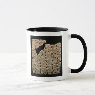 Mug Comprimé avec le manuscrit cunéiforme, d'Uruk