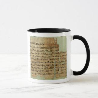 Mug Compte de la bataille de Qadesh, donnée en Syrie