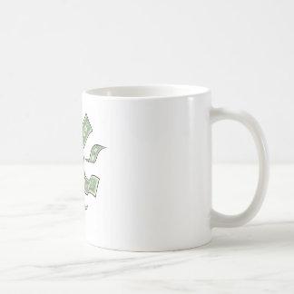 Mug Concept d'argent de mégaphone