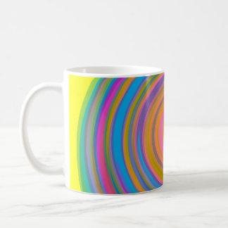 Mug Conception colorée de remous