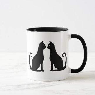 Mug Conception de chat noir