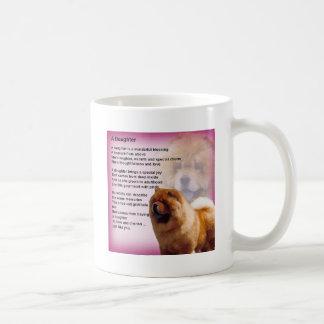 Mug Conception de chien de bouffe de bouffe - poème de