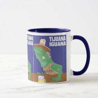 Mug Conception d'iguane de Tijuana