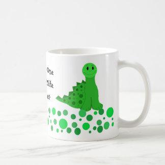Mug Conception mignonne de professeur de dinosaure