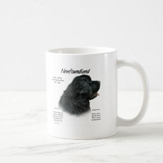 Mug Conception (noire) d'histoire de Terre-Neuve