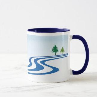 Mug Conception paresseuse de rivière