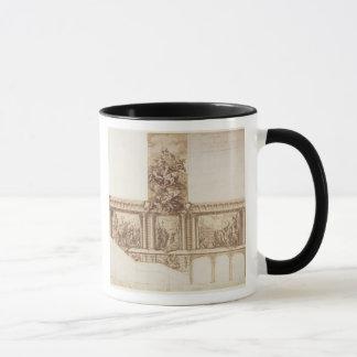 Mug Conception pour les murs de plafond et l'escalier