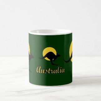 Mug Conception rouge de la terre de l'Australie