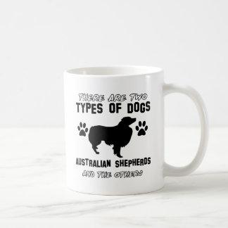 Mug conceptions australiennes de chien de berger