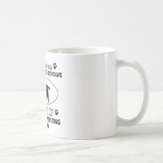 Mug Conceptions drôles de griffon de pointage à poils