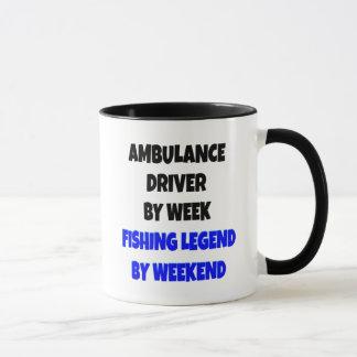 Mug Conducteur d'ambulance de légende de pêche