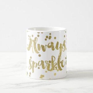 Mug Confettis d'or d'étincelle