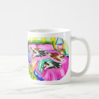 Mug Confort rose de Sheltie