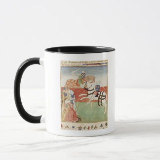 Mug Confrontation de deux chevaliers avant le roi