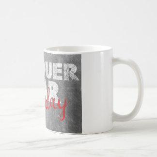 Mug Conquérez la crainte, quotidienne