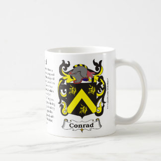 Mug Conrad, l'histoire, la signification et la crête