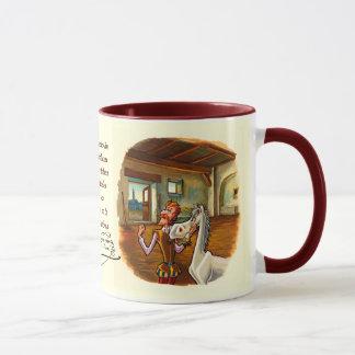 Mug Consacré à Rocinante, cheval de DON DON QUICHOTTE