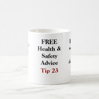 Mug Conseil LIBRE de santé et sécurité - bout 23