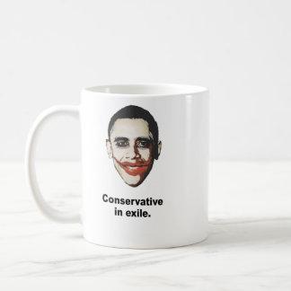 Mug Conservateur dans l'exil