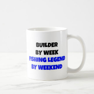 Mug Constructeur par légende de pêche de semaine par