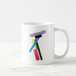 Mug Construction de Suprematistic par Kazimir Malevich