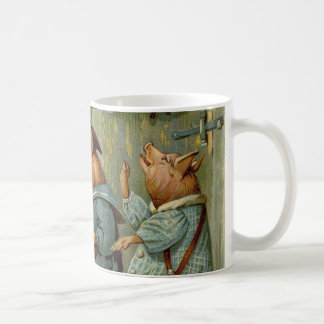 Mug Conte de fées vintage, trois petits porcs