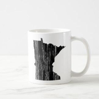 Mug Contour affligé d'état du Minnesota